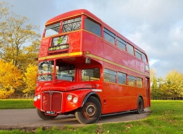 Classic London Bus for weddings in Birmingham